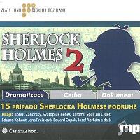 Různí interpreti – Bidlo, Čechura: 15 případů Sherlocka Holmese podruhé (MP3-CD)