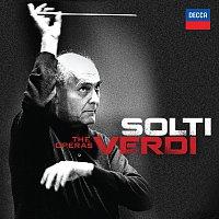 Přední strana obalu CD Solti - Verdi - The Operas