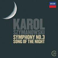 """Přední strana obalu CD Szymanowski: Symphonies Nos.2 & 3 - """"Song Of The Night"""""""