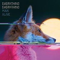 Přední strana obalu CD Man Alive