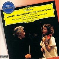 Anne-Sophie Mutter, Berliner Philharmoniker, Herbert von Karajan – Mozart: Violin Concerto Nos.3 K.216 & 5 K.219