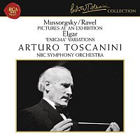 """Arturo Toscanini, Edward Elgar, NBC Symphony Orchestra – Mussorgsky: Pictures at an Exhibition - Elgar: Variations on an Original Theme, Op. 36 """"Enigma"""""""