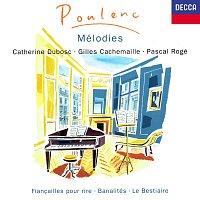 Catherine Dubosc, Gilles Cachemaille, Pascal Rogé – Poulenc: Mélodies Vol. 1