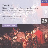 Philharmonia Hungarica, Antal Dorati – Kodály: Háry János Suite/Dances of Galánta/Peacock Variations, etc.