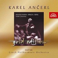 Česká filharmonie, Karel Ančerl – Ančerl Gold Edition 3. Mendelssohn-Bartholdy, Bruch & Berg: Koncerty pro housle a orchestr
