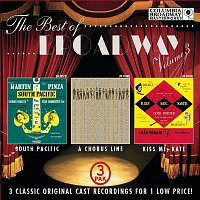 Various Artists.., Richard Rodgers, Salvatore Dell'Isola – The Best of Broadway, Vol. 3 (3-Pak Slipcover)