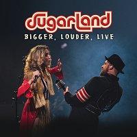 Přední strana obalu CD BIGGER, Louder, Live