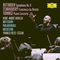 Rotterdam Philharmonic Orchestra, Yannick Nézet-Séguin, Marc-Andre Hamelin – Beethoven: Symphony No. 8 in F Major, Op. 93 / Tchaikovsky: Francesca da Rimini, Op.32, TH 46 / Turnage: Piano Concerto