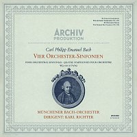 Munchener Bach-Orchester, Karl Richter – Bach, C.P.E.: Symphonies Nos.1 - 4