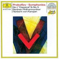 """Berliner Philharmoniker, Herbert von Karajan – Prokofiev: Symphonies Nos.1 """"Classical"""" & 5"""