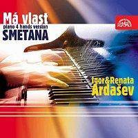 Přední strana obalu CD Smetana: Má vlast - klavírní verze