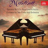 Různí interpreti – Martinů: Koncert č. 5 pro klavír a orchestr, Koncert pro dva klavíry a orchestr