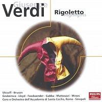 Neil Shicoff, Renato Bruson, Edita Gruberova, Brigitte Fassbaender, Geoffrey Moses – Verdi: Rigoletto - highlights