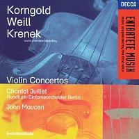 Chantal Juillet, Radio-Symphonie-Orchester Berlin, John Mauceri – Korngold / Weill / Krenek: Violin Concertos
