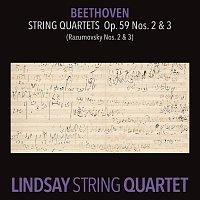 """Lindsay String Quartet – Beethoven: String Quartet in E Minor, Op. 59 No. 2 """"Rasumovsky""""; String Quartet in C Major, Op. 59 No. 3 """"Rasumovsky"""" [Lindsay String Quartet: The Complete Beethoven String Quartets Vol. 5]"""
