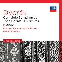 Přední strana obalu CD Dvořák: Complete Symphonies; Tone Poems; Overtures; Requiem