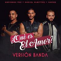 Daniel Elbittar, Espinoza Paz, Nacho – ?Qué Es El Amor? [Versión Banda]