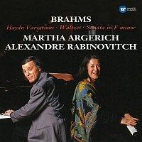 Martha Argerich – Brahms: Haydn Variations, Op. 56b, Waltzes, Op. 39 & Sonata in F Minor, Op. 34b