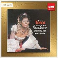 Renata Scotto, Plácido Domingo, Philharmonia Orchestra, James Levine – Puccini: Tosca (Highlights)