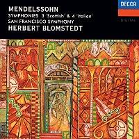 Herbert Blomstedt, San Francisco Symphony – Mendelssohn: Symphonies Nos. 3 & 4