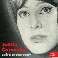 Přední strana obalu CD Judita Čeřovská zpívá evergreeny