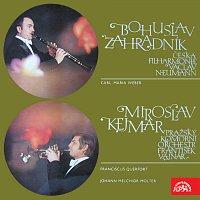 Bohuslav Zahradník, Miroslav Kejmar, – Weber: Koncert pro klarinet a orchestr, Querfort, Molter: Koncerty pro trubku, smyčce a cembalo