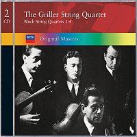 Přední strana obalu CD Bloch: String Quartets