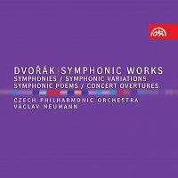 Různí interpreti – Dvořák: Kompletní symfonie, Symfonické básně, Symfonické variace, Koncertní předehry CD