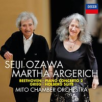 Přední strana obalu CD Beethoven: Piano Concerto No. 2; Grieg: Holberg Suite