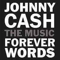 Přední strana obalu CD Johnny Cash: Forever Words