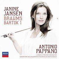 Janine Jansen, London Symphony Orchestra, Antonio Pappano – Brahms: Violin Concerto; Bartók: Violin Concerto No.1