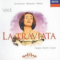 Přední strana obalu CD Verdi: La Traviata - Highlights