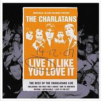 Přední strana obalu CD Live It Like You Love It