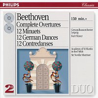 Gewandhausorchester Leipzig, Kurt Masur, Academy of St. Martin in the Fields – Beethoven: Complete Overtures / 12 Minuets / 12 German Dances, etc. [2 CDs]