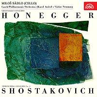 Miloš Sádlo – Honegger, Šostakovič: Koncerty pro violoncello a orchestr