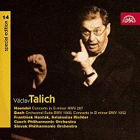Česká filharmonie, Václav Talich – Talich Special Edition 14. Händel: Koncert pro hoboj a smyčc.orch. - Bach: Orchestrální suita, Koncert pro cembalo a orch.