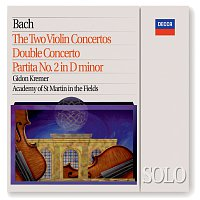 Gidon Kremer, Academy of St. Martin in the Fields – Bach, J.S.: The 2 Violin Concertos; Double Concerto; Partita No.2 in D minor