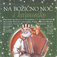 Přední strana obalu CD Na bozicno noc s harmoniko