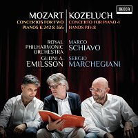 Marco Schiavo, Sergio Marchegiani, Royal Philharmonic Orchestra, Gudni A. Emilsson – Mozart: Concertos For Two Pianos K 242 & 365; Kozeluch: Four Hands Piano Concerto