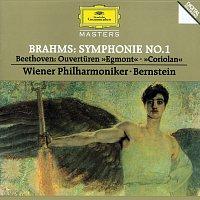 """Wiener Philharmoniker, Leonard Bernstein – Brahms: Symphony No.1 / Beethoven: Overtures """"Egmont"""" & """"Coriolan"""""""
