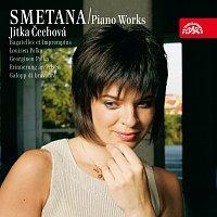 Přední strana obalu CD Smetana: Klavírní dílo 5 (Bagately a Impromptus, Kvapíček, Polky, Impromptus, Mazurka, Čtverylky)