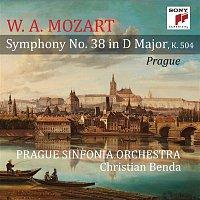 """Přední strana obalu CD Mozart: Symphony No. 38 in D Major, K. 504 """"Prague"""""""