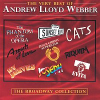 Přední strana obalu CD The Very Best Of Andrew Lloyd Webber: The Broadway Collection