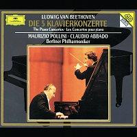 Přední strana obalu CD Beethoven: The Piano Concertos
