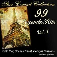 Přední strana obalu CD Star Legend Collection: 99 Legends Hits Vol. 1