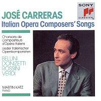 José Carreras, Giuseppe Verdi, Martin Katz – Italian Operas Composers' Songs