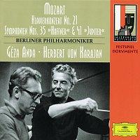 "Berliner Philharmoniker, Herbert von Karajan, Géza Anda – Mozart: Piano Concerto No. 21; Symphonies No.35 ""Haffner"" & No.41 ""Jupiter"""