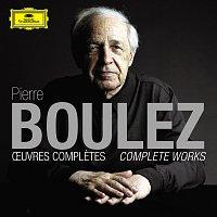 Přední strana obalu CD Pierre Boulez: Oeuvres completes