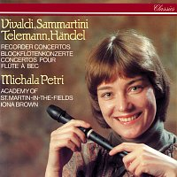 Michala Petri, Academy of St. Martin in the Fields, Iona Brown – Recorder Concertos By Vivaldi, Sammartini, Telemann & Handel