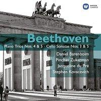 Daniel Barenboim, Pinchas Zukerman, Jacqueline Du Pré, Stephen Kovacevich – Beethoven: Piano Trios Nos. 4 & 5 - Cello Sonatas Nos. 3 & 5
